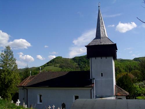 The Orthodox Church of Țărățel