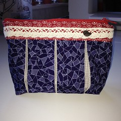 Another #pattydoo pouch and again a gift 😃 #sewing