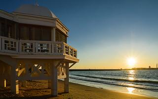 La Caleta Beach, Cadiz, Spain | by pacogranada