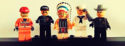 Lego Village People | by Hexagoneye Photography