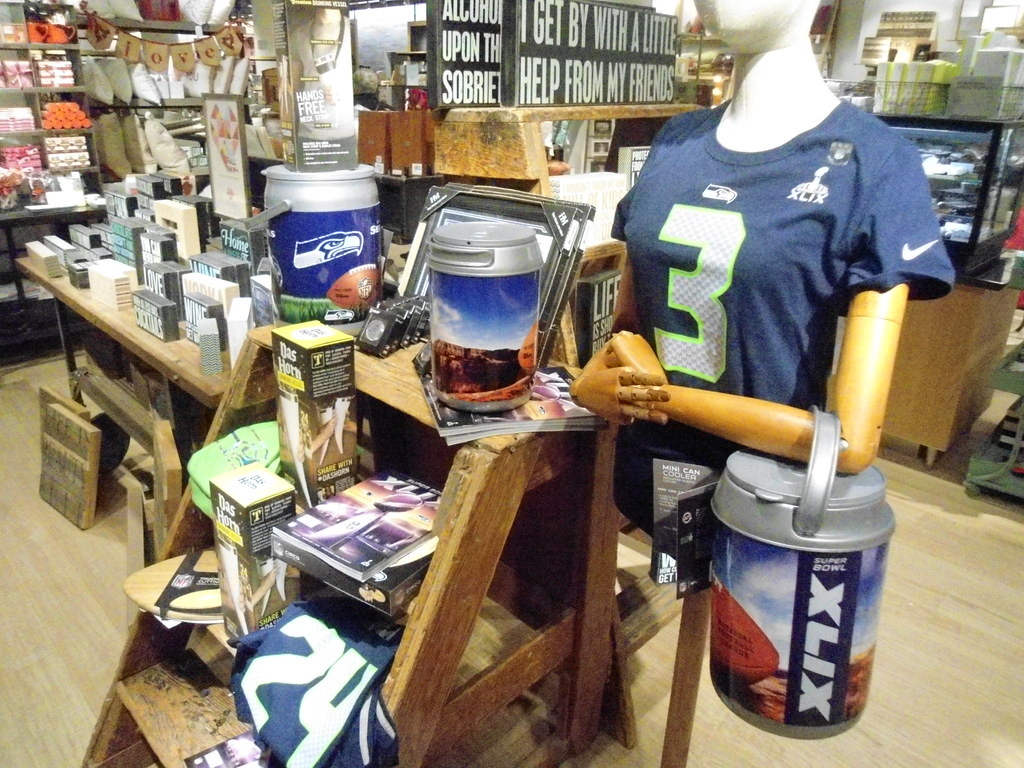 Cheap Nordstrom Seahawk merchandise in the gift dept downtown Se hot sale