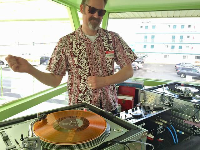 Thrifty Discount DJ Blanko Dave Retro Roadmap Wildwood Vintage Tiki Weekend 2016