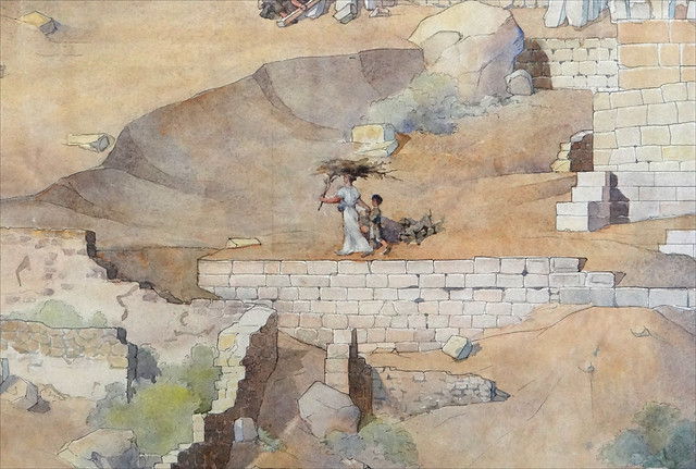 Ruines de Delphes (Beaux-Arts, ENSBA)