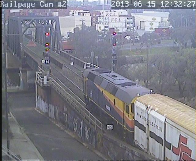 42206 SCT Transfer to North Dynon, ex SCT, Laverton 15-6-2013 by Railpage Bunbury Street