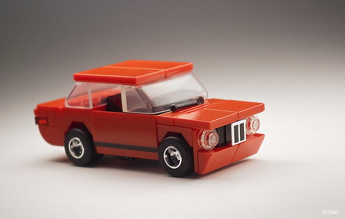 Lego BMW 2002 Turbo – Red | by _Tiler