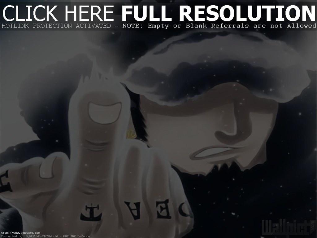 One Piece Trafalgar Law Wallpaper Hd Hd Wallpapers Flickr