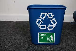 Recycling container | by SmartSignBrooklyn