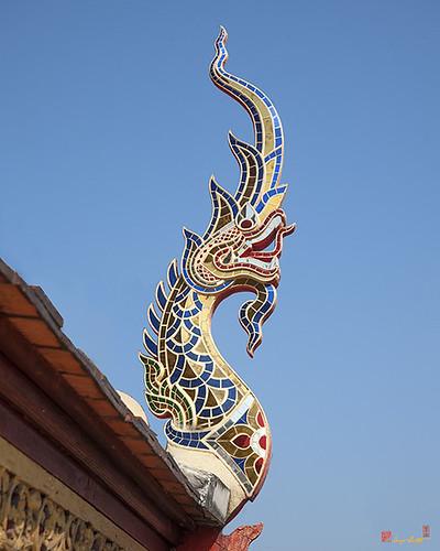 Wat Montien Phra Ubosot Naga Roof Finial (DTHCM0530) วัดมณ้ฑียร ปลีนาคหลังคา พระอุโบสถ   by Gerry Gantt Photography