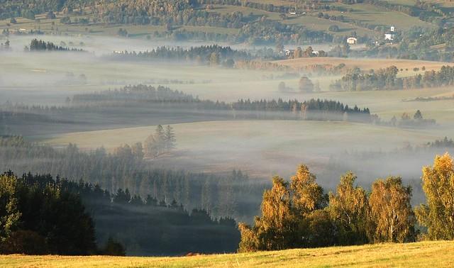 Jeseníky - údolí říčky Krupé