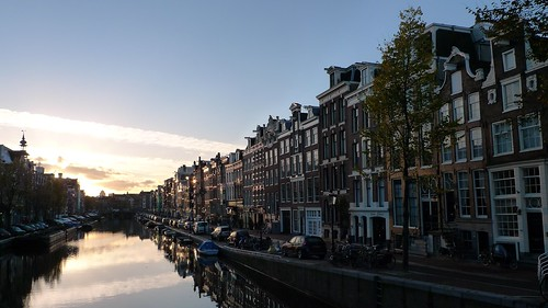 Prinsengracht one fall morning 1 | by @WorkCycles