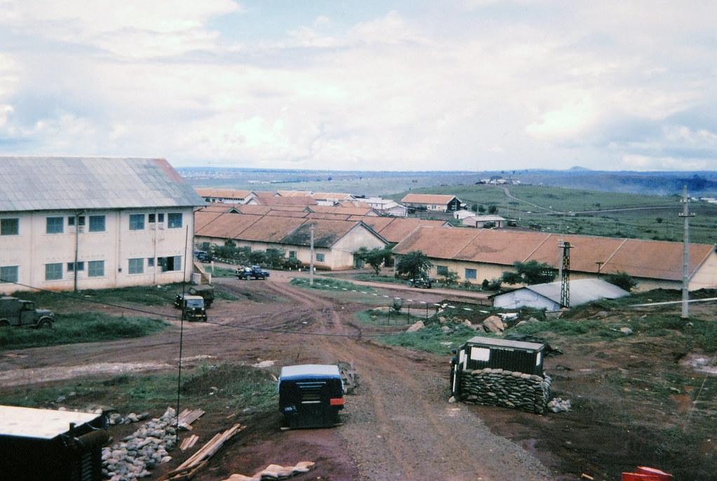 Pleiku Air Base 1966 | Pleiku, June 1966 - Photo by McGowan … | Flickr