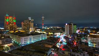 San Antonio Skyline | by nan palmero
