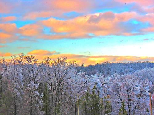 winter toronto ontario canada season icestorm