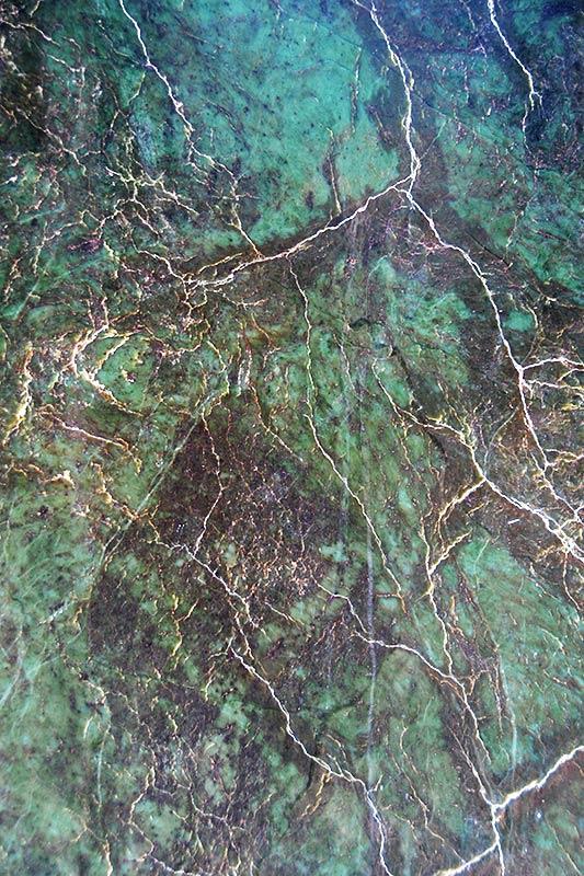 Jade Slab on display at Lillooet Museum, Lillooet, Gold Country, Cariboo, British Columbia
