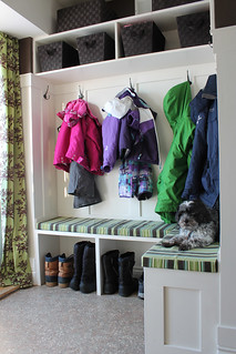 mudroom angle #mudroom #renovation | by duckyhouse