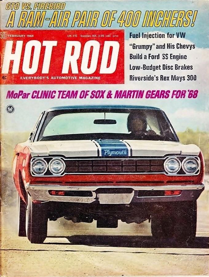 1968 Plymouth Road Runner Sox & Martin Hot Rod cover   Flickr