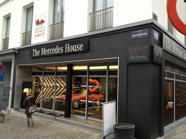 Mercedes Benz House Brussels Belgium