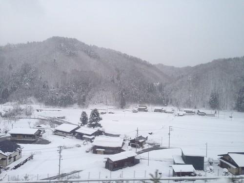 日本 japan flickriosapp:filter=nofilter uploaded:by=flickrmobile shirakawago 白川郷 village snow winter 冬天