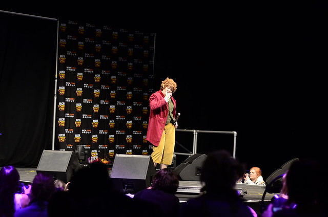 EURO COSPLAY competition at MCM Comic con 2013 @ Excel, London