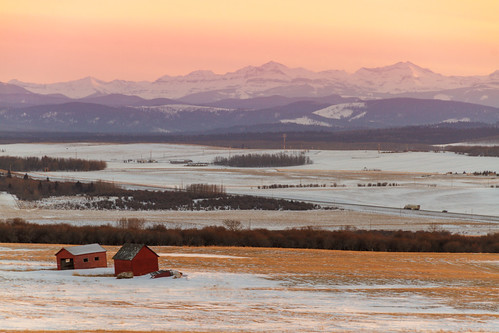sunset sky mountain canada calgary rockies evening rocky alberta prairie foothill