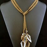 Lariat Necklace by Jenny Schu 2013