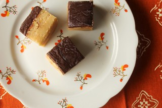 Irish Cream Fudge with Guinness Ganache Recipe | by femmefraiche