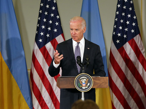 VP Biden at the Diplomatic Academy of Ukraine, April 22, 2014 | by usembassykyiv