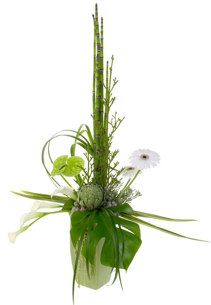 Formal Linear Flowers David Kesler Floral Design Instit Flickr