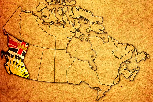 Map of the Province of British Columbia, Canada   by BCVacation