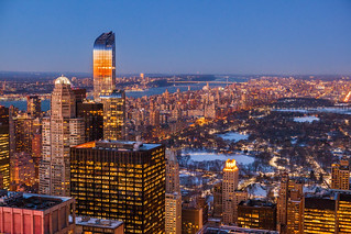 New York City Winter Sunset | by Anthony Quintano
