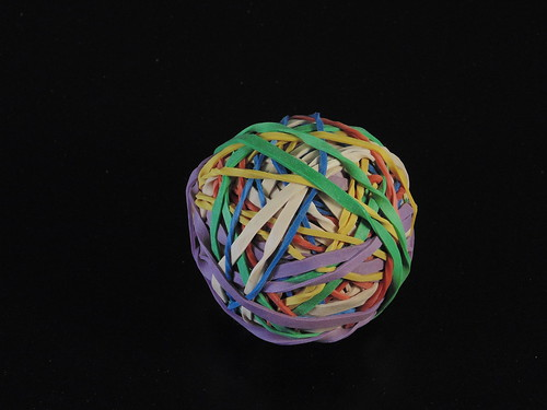 Rubber band ball 3 | by tiff.sull