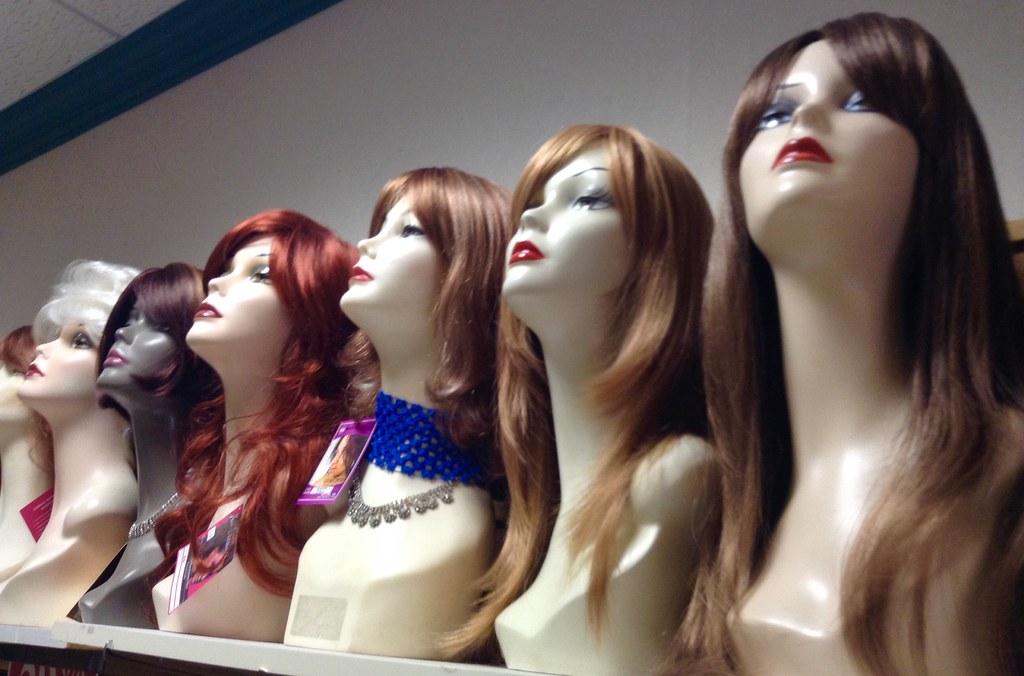 Wig Shop Heads Mannequins