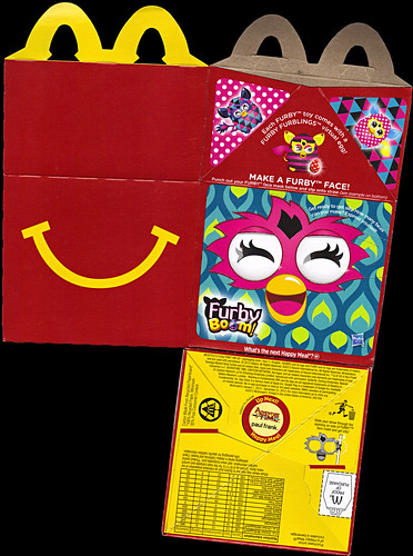 "McDonald's Happy Meal :: ""TEENAGE MUTANT NINJA TURTLES Skate Park & FURBY BOOM!"" box i (( 2014 )) by tOkKa"