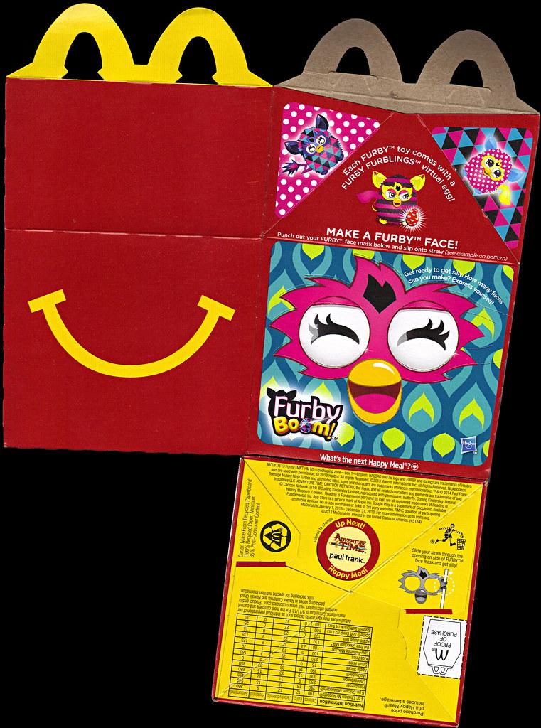 "McDonald's Happy Meal :: ""TEENAGE MUTANT NINJA TURTLES Skate Park & FURBY BOOM!"" box i (( 2014 )) by tOkKa"