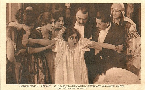 Maria Jacobini in Resurrezione (1917)