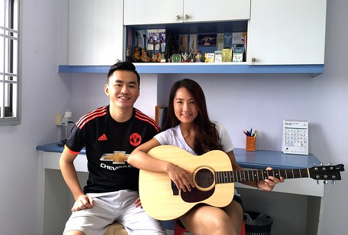 Private guitar lessons Singapore Yue Shan