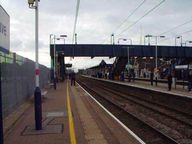 Flying Scotsman @ Leagrave Station - June 2016