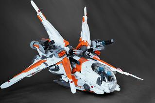Heavy Gunship - Merkabah - pic3   by Brick Martil