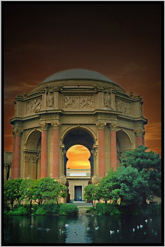 Palace of Fine Arts ~ San Francisco, California ~ Historic Site ~ My film 1997 | by Onasill ~ Bill Badzo - - 64 Million Views - Thank