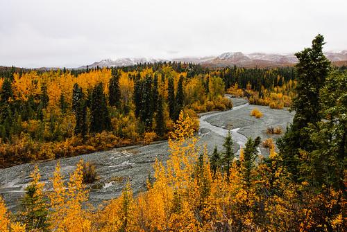 Trail Creek Trail- Fall Meets Winter   by Wrangell-St. Elias National Park