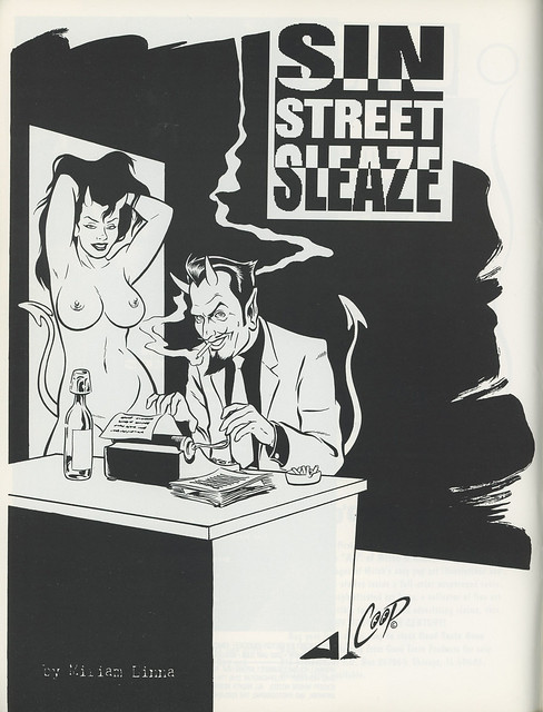 Highball Magazine - Miriam Linna - Sin Street Sleaze