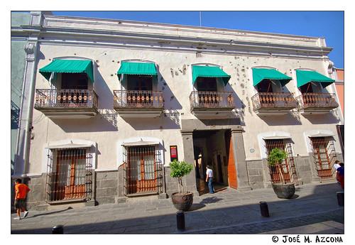 Mexico. Puebla. Casona de la familia Serdán Alatriste.