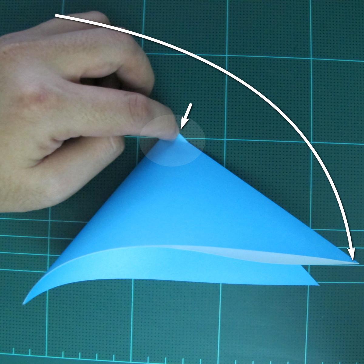 การพับกระดาษเป็นรูปตัวเม่นแคระ (Origami Hedgehog) 004