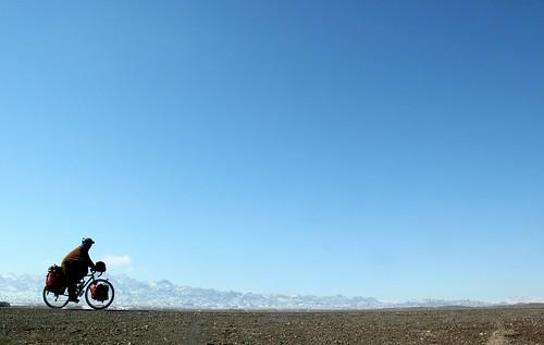 Beautiful cycling near Kashan