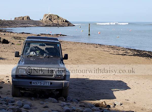 Daihatsu 4x4 parked at the seashore, Bude, Cornwall, UK | Flickr