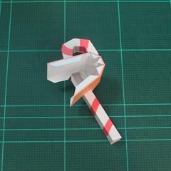 วิธีทำโมเดลกระดาษตุ้กตาคุกกี้รัน คุกกี้ผู้กล้าหาญ แบบที่ 2 (LINE Cookie Run Brave Cookie Papercraft Model Version 2) 017
