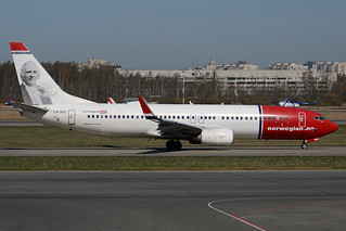 Norwegian (Ole Bull livery), LN-NOC, Boeing 737-81Q | by Anna Zvereva
