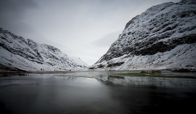 Loch Achtriochtan   Glencoe Scotland 01/2015