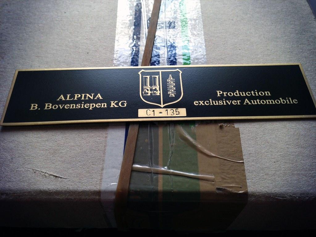 Bmw Alpina C1 135 Bmw Alpina Vintage Plates And Stickers
