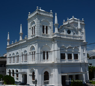 Sri Lanka. Galle. Fort. Meera Mosque.